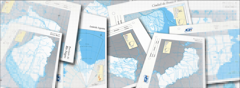 Interactive map slide